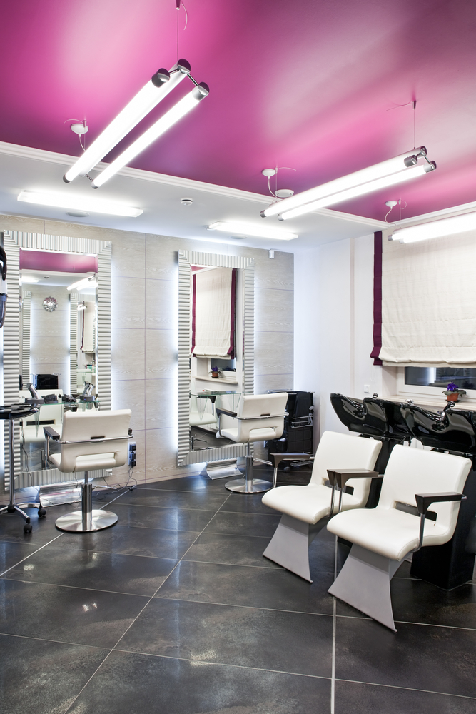 General liability safety documents procedures sassi for Hair salon interior design photo