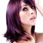 plum brown hair color