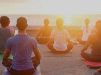 Employee Wellness Group Yoga Session